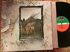 "LED ZEPPELIN ""ZOSO"" vintage vinyl classic LP w/""Black Dog"""