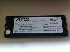 AMX / Panja / Phast 7.2V NiMH battery VPT-CP VPN-CP wireless touchpanels 57-0962