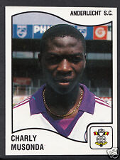 Panini Sticker - Belgium Football 1990 - No 13 - Anderlecht - Charly Musonda