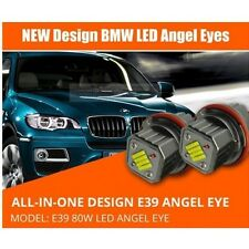 LED Angel Eyes Light 80W CREE All in One fit BMW E39 E60 61 63 64 E65 66 E83 E53