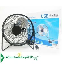 VENTILATORE USB PC NOTEBOOK MINI FAN INCLINABILE PALE PALETTE IN METALLO