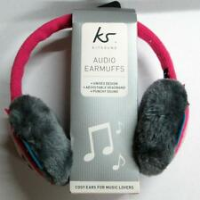 New Kitsound OnEar Audio Winter Owl Knitted Earmuff Headphones 4 iPod iPhone