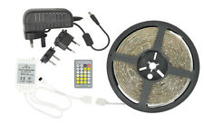 LED Tape Light Dual Colour DIY LED 5M Kitchens Cars Lorries Motorhomes etc Remot