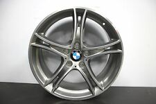 "1 x neue echte Original BMW 1 2 Series F20 F21 361 19"" Grau Diamond Alu"