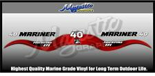 MARINER - 40 hp - FOURSTROKE EFI - DECAL SET - OUTBOARD  DECALS