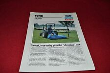 Ford Tractor 917L Flail Mower Dealers Brochure LCOH