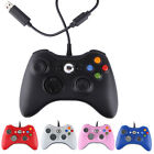 Lot 2 USB Wired Game Controller For Microsoft Xbox 360 PC New Classic Gamepad US