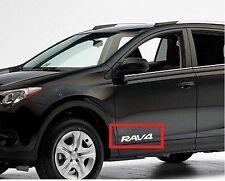 2 Decal Sticker for TOYOTA RAV4 door part rav 4 2.2D-4D XT-R 5dr 4WD 2WD 2007