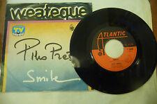 """PINO PRESTI"""" SMILE/L'ESTATE DI LAURA-disco 45 giri ATLANTIC It 75"""" ITALO DISCO"""