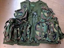 *NEW* Original Arktis UK SF American Woodland Camo Combat Tactical Webbing Vest
