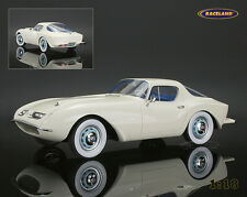 BMW 507 Raymond Loewy 1957 Bianco/White, auto cult sculptures 1:18, NEW, OVP