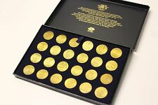 Vintage Set of 24 Transit Tokens 1984 Olympic Games Gold Coins Olympics XXIII US
