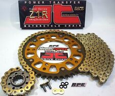GSX-R1340 '08/14 HAYABUSA SUPERSPROX JT GOLD CHAIN AND SPROCKETS KIT *OEM,QA,Fwy