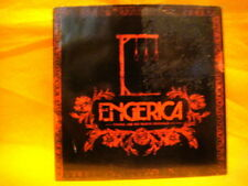cardsleeve Full CD ENGERICA There Are No Happy Endings PROMO 11TR 2005 alt rock