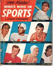 1951 Who's Who in Sports Baseball magazine, Stan Musial, St. Louis Cardinals~Pr