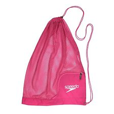 Speedo Swim Ventilator Mesh Equipment Pool Gear Swimming Bag, Fuchsia/Purple