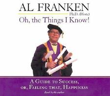 AL FRANKEN (SNL) - Oh, the Things I Know! (Audiobook) 3 CD SET