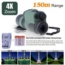 M01 visore notturno digitale 4x50mm IR infrarossi per visione di notte+Battery