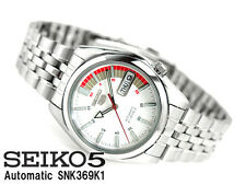 Seiko 5 Men's SNK369K1 Stainless Steel Automatic 21 Jewels Day Date Watch