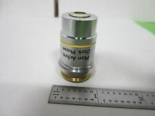 OBJECTIVE DARK PHASE REICHERT USA MICROSCOPE OPTICS AS IS BIN#R6-B-16