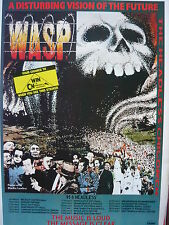 W.A.S.P. - MAGAZINE CUTTING (FULL PAGE ADVERT) (REF NC3)