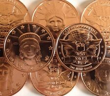 1 oz 999 Liberty Head Coin. USA. Ingot Bullion bars 1 Ounce AVDP. Statue Liberty