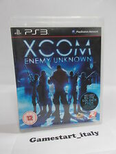 XCOM ENEMY UNKNOWN (PS3 PLAYSTATION 3) USATO COME DA FOTO