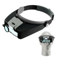 Head Magnifier 10.5x Illuminated Dual Lens Flip-in Head Magnifier Loupe