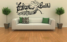 Laughing Buddha Wall Art Vinyl Decal Sticker Home Removable Graphic Ohm Unique