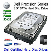 "500gb Dell Precision t3400 workstation 3.5"" SATA Hard Disc Drive (HDD) Aggiornamento"