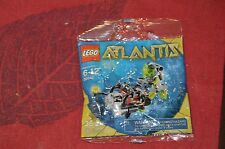 LEGO 30042 Atlantis Mini Sub 1 Diver Minifigure Aquazone Under Water City SEALED