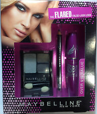 Maybelline Flared False-Lash Look The Falsies Mascara + Eyeliner + Eyeshadow SET