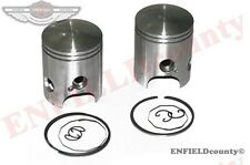 NEW CYLINDER PISTON 64mm REPLACEMENT SET PAIR YAMAHA RD350 360-11631-03-96