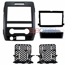 Radio Replacement Dash Mounting Installation Kit Single/Double-DIN for Ford F150