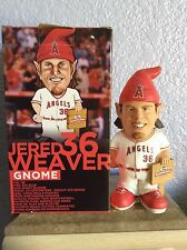 NIB Jared Weaver Anaheim Angels Limited Garden Gnome Bobblehead SGA 06/06/14 #2