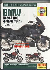 BMW Boxer 850 1100 Gemelos 1993-1997 Haynes Manual Del Taller libro GS RS RT R850 R1100 R