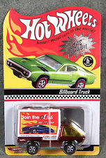 HOT WHEELS ~ BILLBOARD TRUCK ~ HW COLLECTORS.COM ~ RED