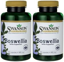 2X Boswellia 400 mg x 100 (200) Capsules ** AMAZING PRICE **  24HR DISPATCH