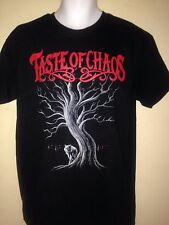 TASTE OF CHAOS TOUR 2015 MEDIUM T-SHIRT THE USED,JIMMY EAT WORLD,PUNK ROCK