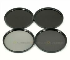82mm ND2 ND4 ND8 ND10 Neutral Density Filter Grey ND Set kits with 82 mm lens