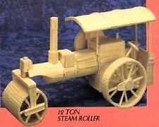Steam Roller Matchstick Modelo Kit de construcción Matchmaker Nuevo
