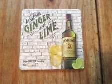 Jameson Irish Whiskey Ginger & Lime Beermat/Coaster. New. Nice Collector's Item.