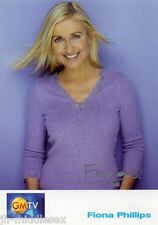 Fiona Phillips Autograph - GMTV - Signed 6x4 Photo - Handsigned - AFTAL