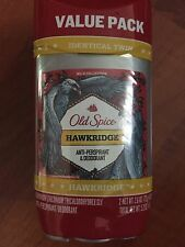 2 Old Spice Anti Perspirant And Deodorant Wild Collection Hawkridge Twin Pack