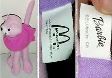 2003 BARBIE MATTEL MCDONALD'S PELUCHE COLLECTION Figure Doll Plush Adverting