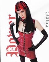 THE FEDERATION RUBBER DRESS  NEW all sizes