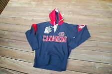 Montreal Canadiens Adult Medium Old Tyme Hockey Pullover Hoodie new with tags