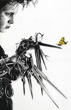 Edward Scissorhands Johnny Depp butterfly print