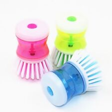 1PC Kitchen Wash Cleaning Tool Pot Dish Brush Washing Up Liquid Soap Dispenser