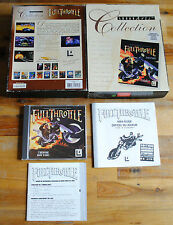 Jeu IBM PC FULL THROTTLE (BIG BOX & CD-ROM version)